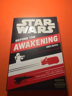 "Star wars ""before the awakening"""