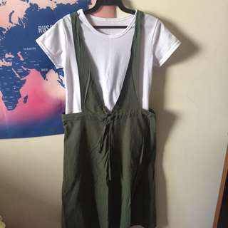🚚 韓風兩件式長裙