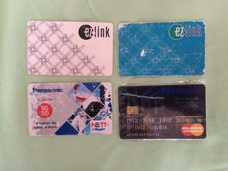Ez-link MRT and Bus Card