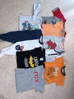 Super cheap! Pre loved baby boy clothes 0-12m