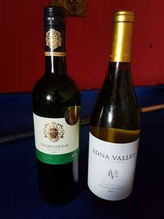 White Wine 1 bot $20 each,  2 for $36