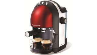 Morphy Richards Accents Espresso Red (coffee machine)