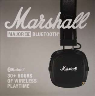 Marshall Major 3 Bluetooth Headphone
