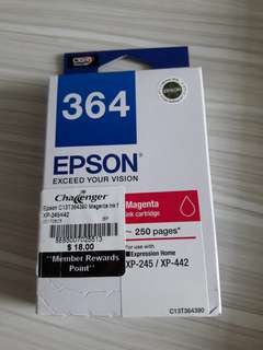 Epson Ink Cartridge 364 (Magenta)
