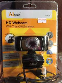 A1tech HD WEBCAM & LOGITECH HEADSET