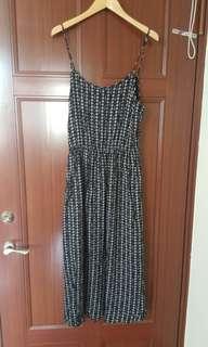 韓國背心長洋裝。