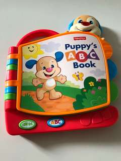 Fisher Price Puppy ABC book