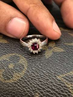 Women Ruby Ring