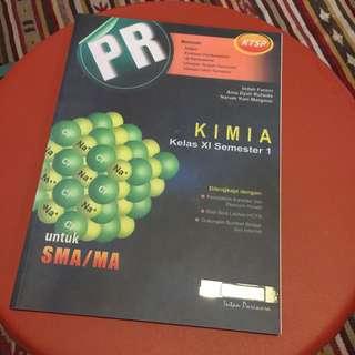 PR Kimia Kelas XI Semester 1