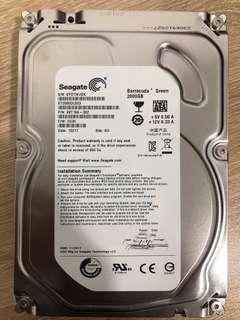 Seagate 2TB HDD SATA