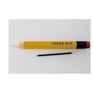 THINK BIG Pencil (real pencil) SALE!