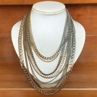 MANGO Multi Chain Necklace
