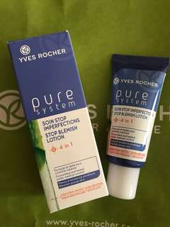 Yves Rocher Pure System, stop blemish lotion