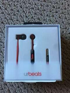 Beats Urbeats 2 Wired In Ear Headphones - Matte Black