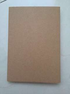 🚚 [INSTOCKS] Plain brown Hardcover Notebook