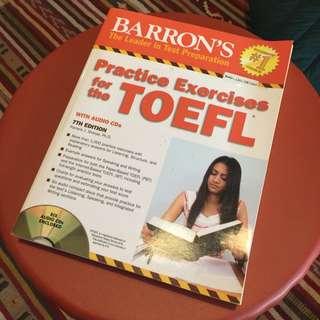 Barron's TOEFL-Test Preparation-edisi 7