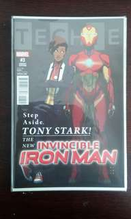 Invincible Iron Man #3 1:25 Anka Variant