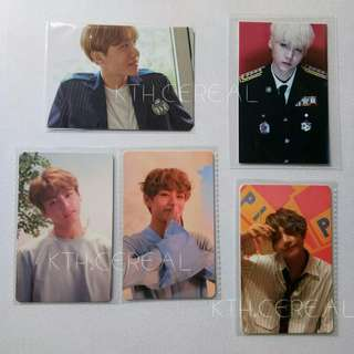 WTS OFFICIAL BTS PHOTOCARD COLLECTION