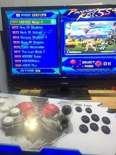 Retro Arcade Desktop Console Pandora 5S 1388 Games