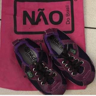 NAO Purple Sneakers