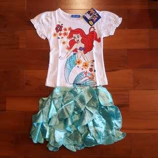 Ariel casual set rok tosca