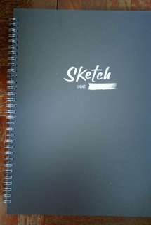 A4 Sketch book / NoteBook / Drawing Block U-Grade