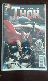 Unworthy Thor #3 1:25 Sook Variant