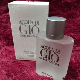 ACQUA DI GIO POUR HEMME FOR MAN ORIGINAL SINGAPORE
