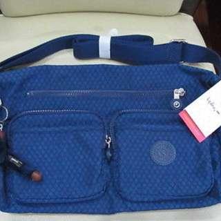 KIPLING GAELLE MIDNIGHT BLUE SHOULDER BAG BRAND NEW AUTHENTIC