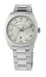 Gucci 41mm 全新 有單 Men's Large Stainless Steel Watch