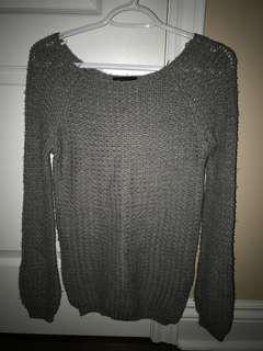 (REDUCED) Grey knit sweater