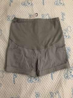 孕婦夏季薄款高彈力托腹褲