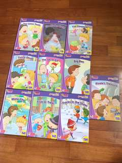 🚚 Robin Story Books Elementary 11A to 15B