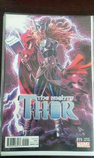 Mighty Thor #15 1:10 Deodato Variant