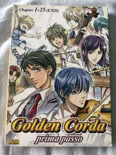 Japanese Anime DVD - Golden Corda prima passo