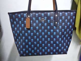 Coach City Zip Tote Midnight Multi Badlands Floral #july100