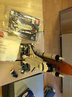 二手 有書明書,齊件 Lego 10231 10213 space shuttle 21309