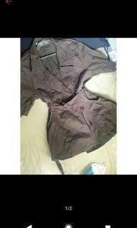 Zara Shortsleeve Coat