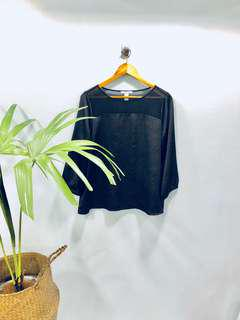 F21 Classic Black Top - Preloved, Excellent Condition