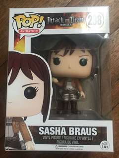 Attack on Titan Sasha Braus Funko