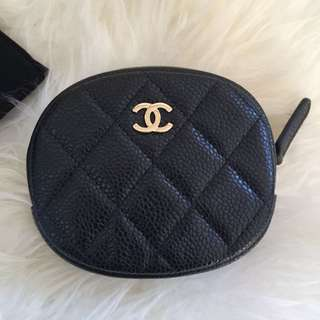 Chanel Round coin purse
