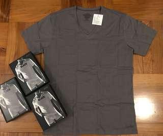 Calvin Klein Black v neck t shirt