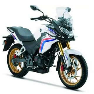 Brand New Honda CBF190X Fight Hawk