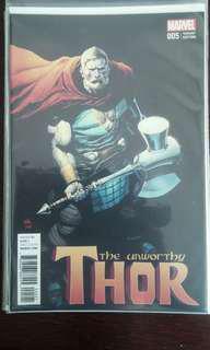 Unworthy Thor #5 1:50 Yu Variant