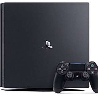 PS4 slim 500GB with two controllers