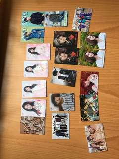yes card 36,37期 lovelyz bts wanna one twice aoa
