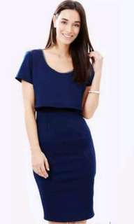 Navy royal blue fresh soul dress from the iconic
