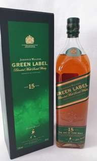 Johnnie Walker-Green Label 威士忌 15年 (1L)