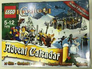 Retired Lego 7979 Kingdom Advent Calender