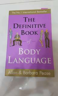 The Definitive Book of Body Language by Allan and Babara Pease